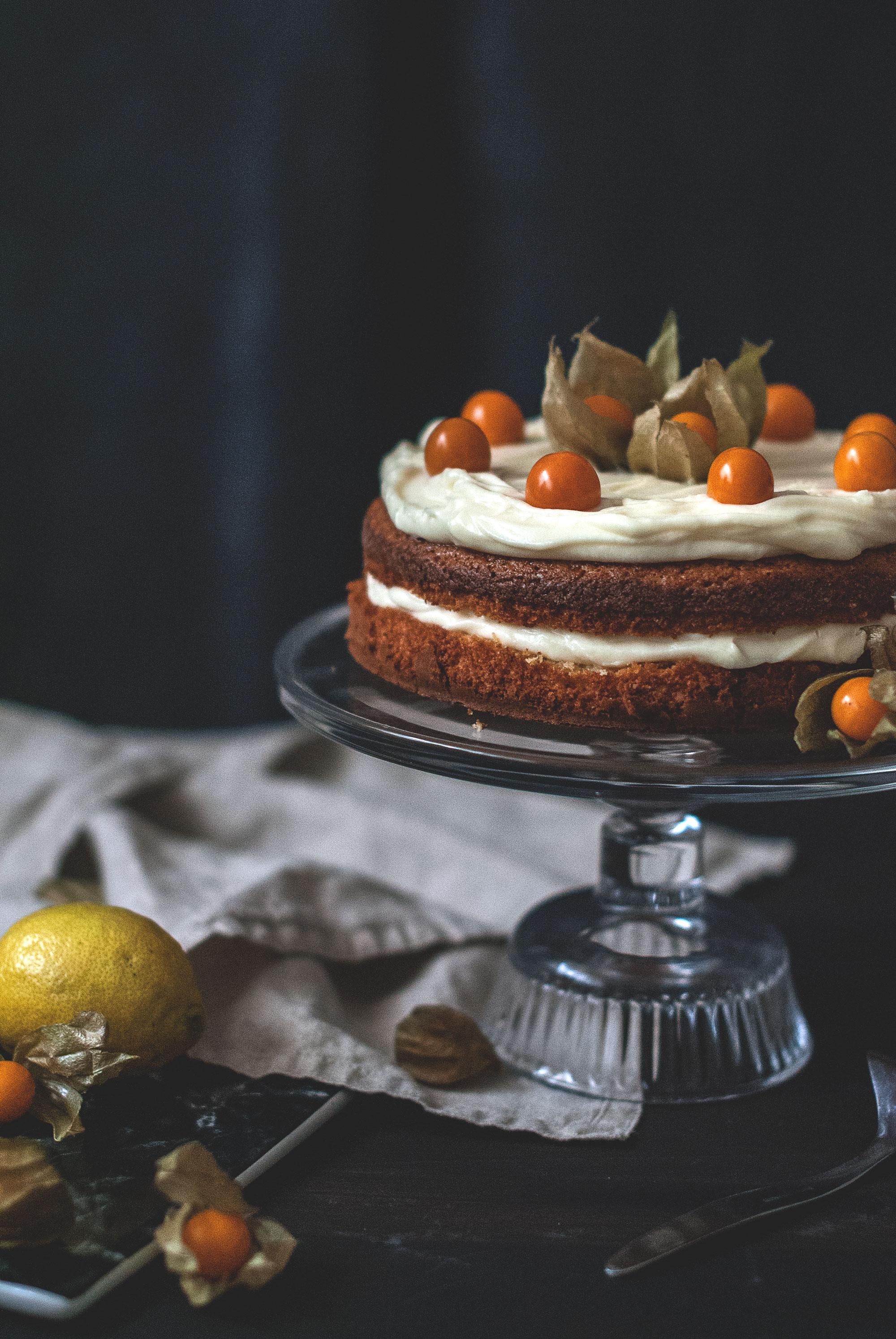 mandlova torta / almond cake