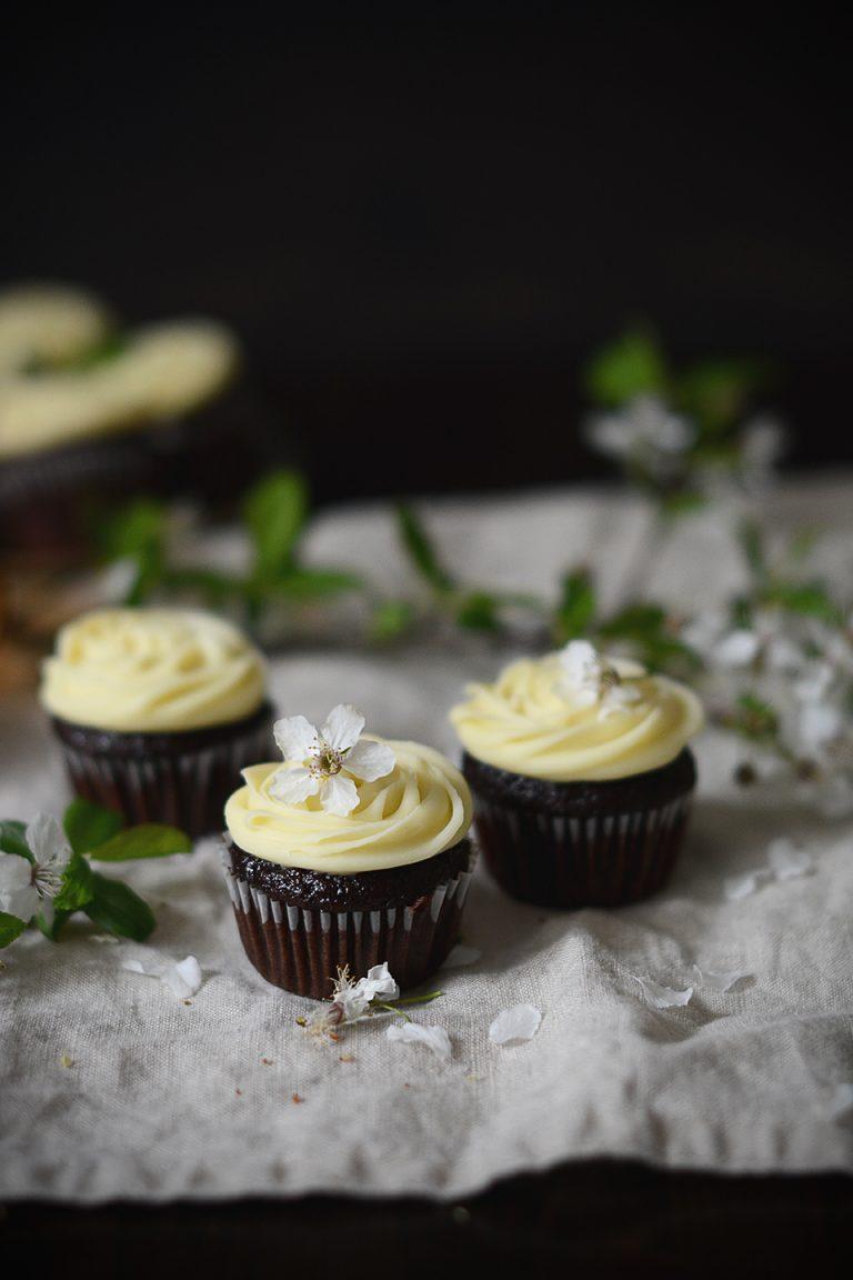 cokoladove cupcakes / chocolate cupcakes