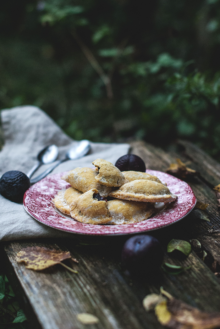 mrkvove tasticky / carot plum handpies